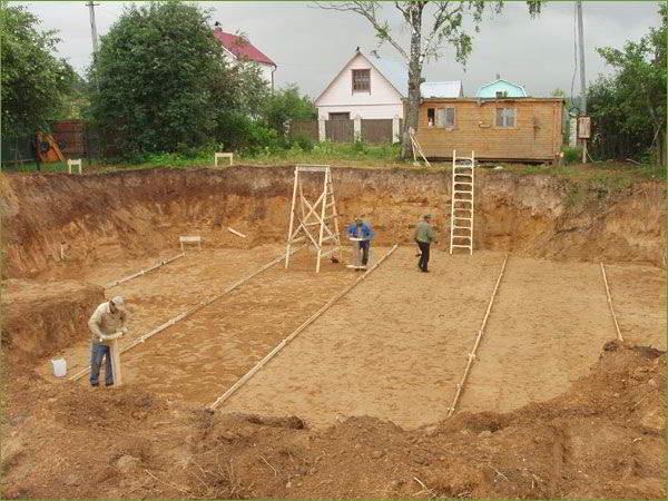 Подготовка участка к строительству