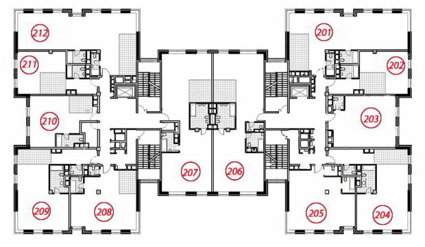 Планировка 3 этаж